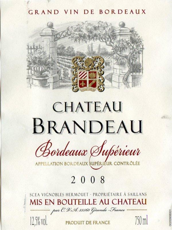 Blason du château Brandeau