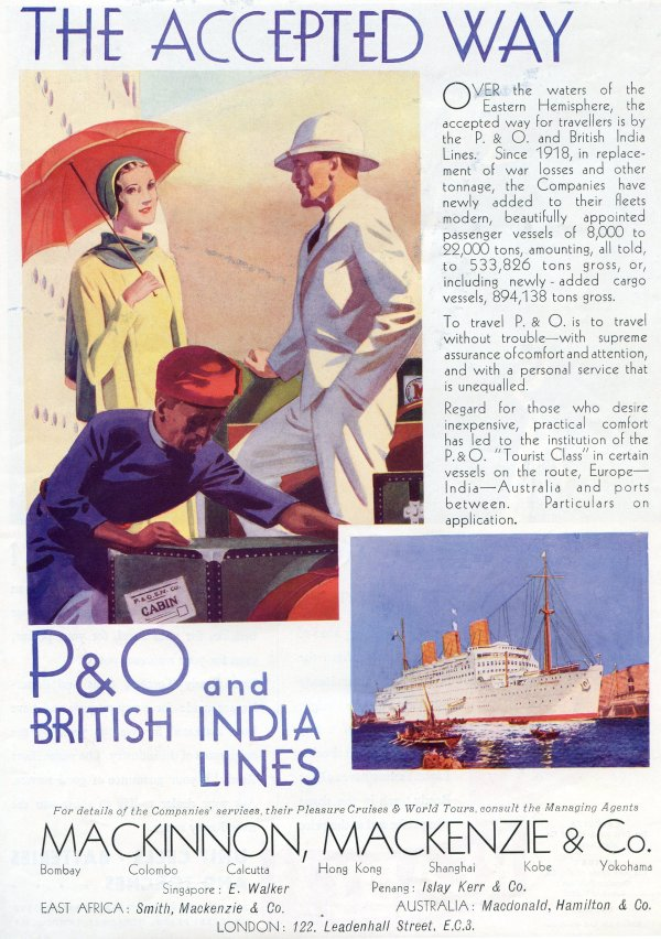 P&O Times of India