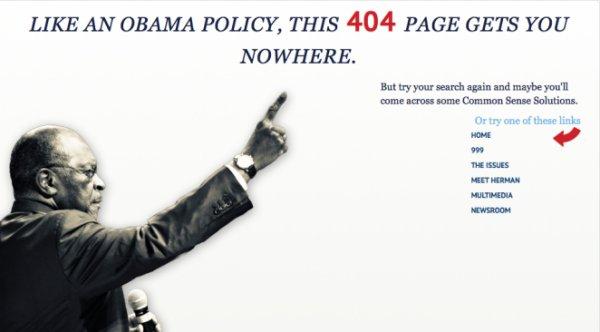 404 Herman Cain