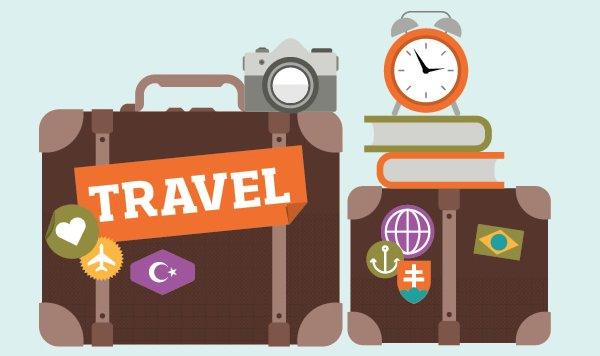 Processus créatif d'une infographie sur le voyage