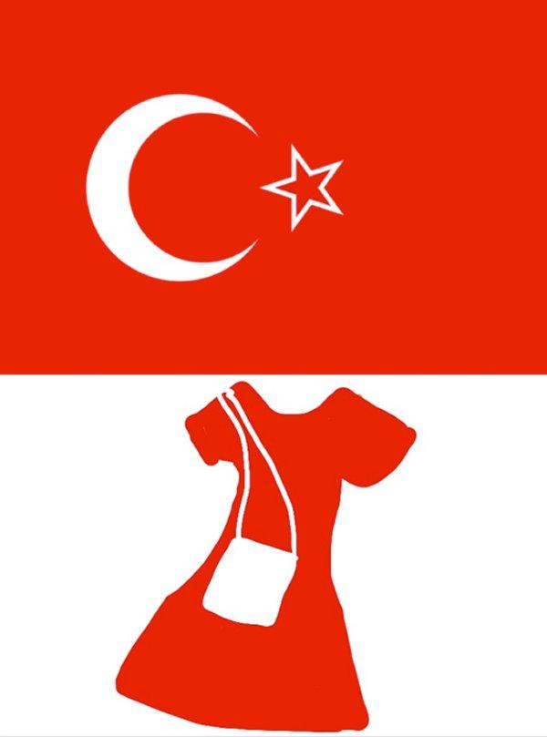 La robe rouge et le sac blanc de la place Taksim