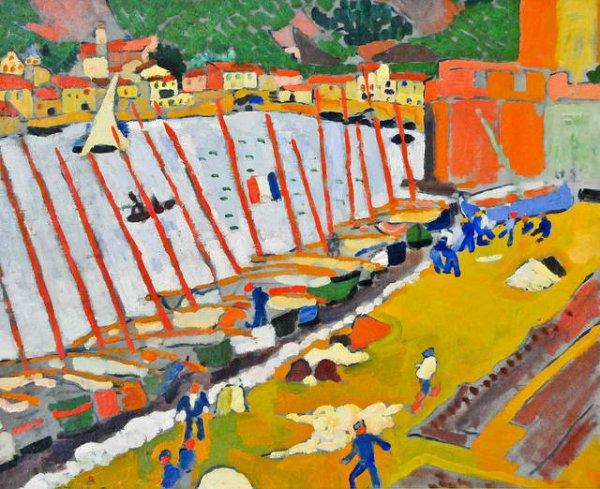 Faubourg de Collioure, André Derain (1905)