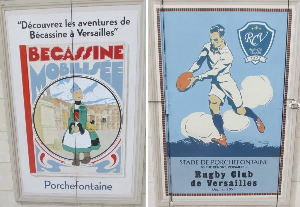 Porchefontaine, Versilles