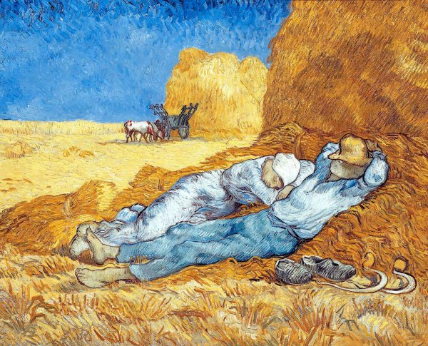 La Méridienne de Van Gogh (1889)